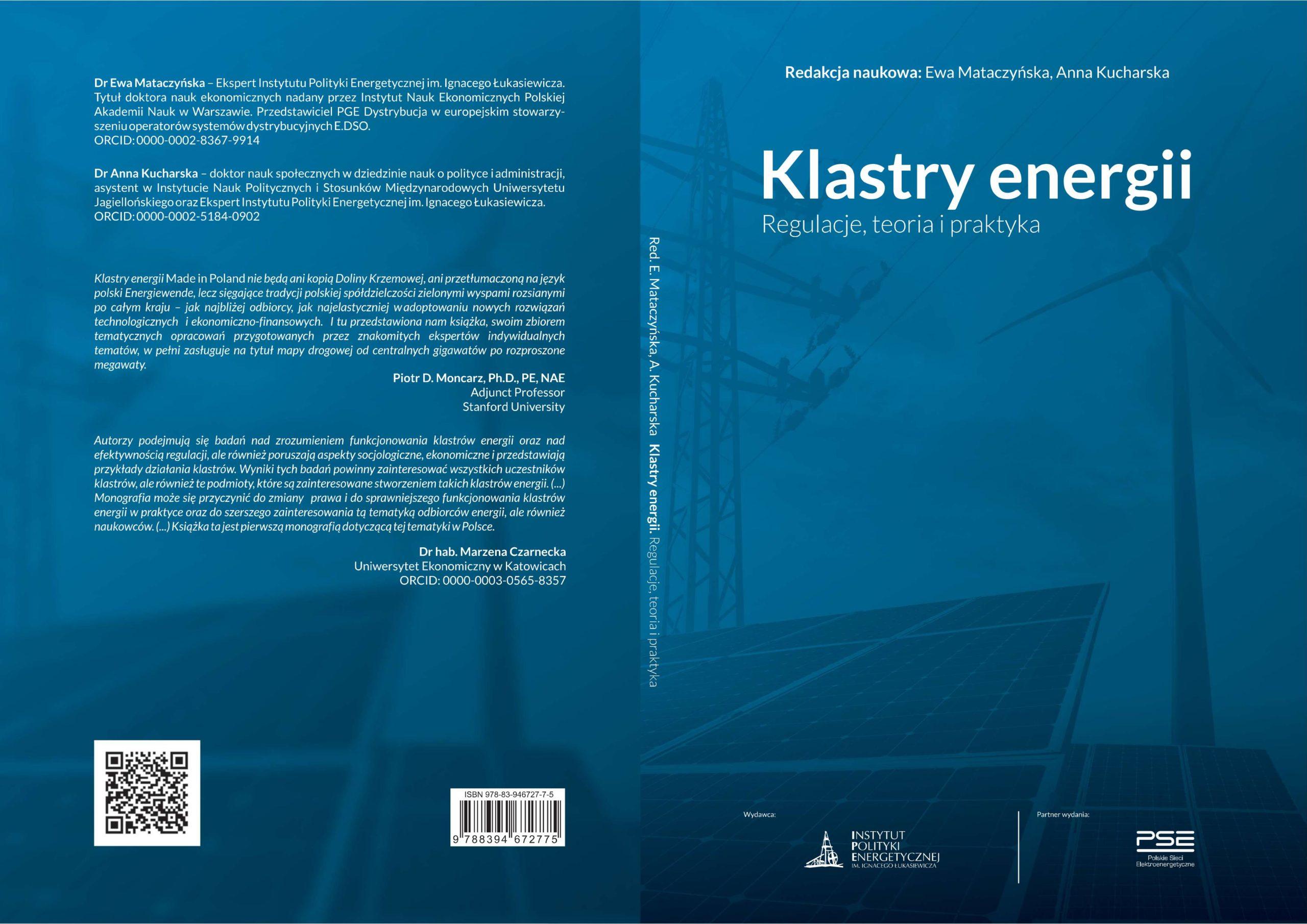 """""""Klastry energii. Regulacje, teoria i praktyka"""" (bezpłatny e-book)"""
