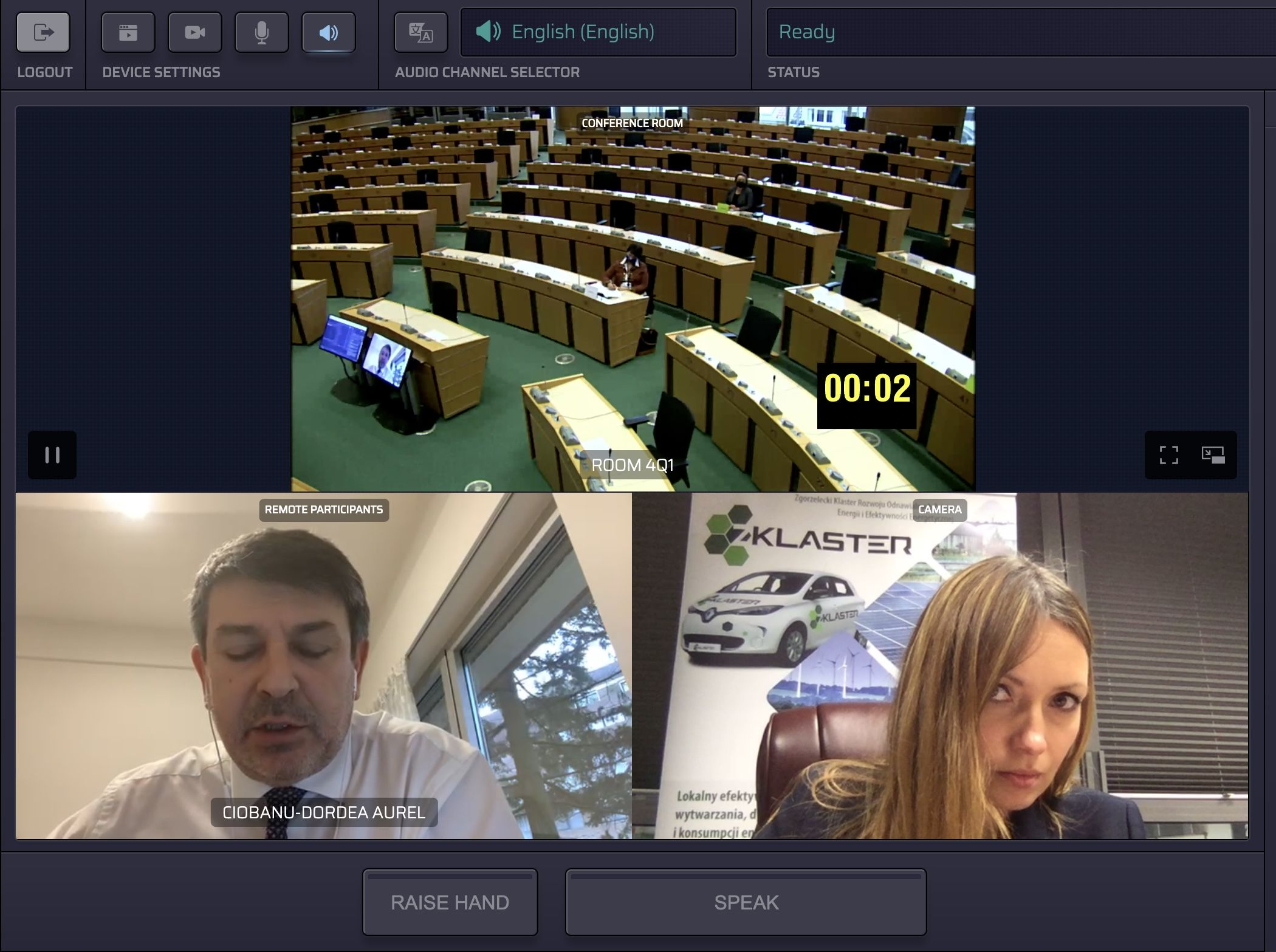 ZKlaster reprezentuje mieszkańców regionu Turowa na forum Europarlamentu