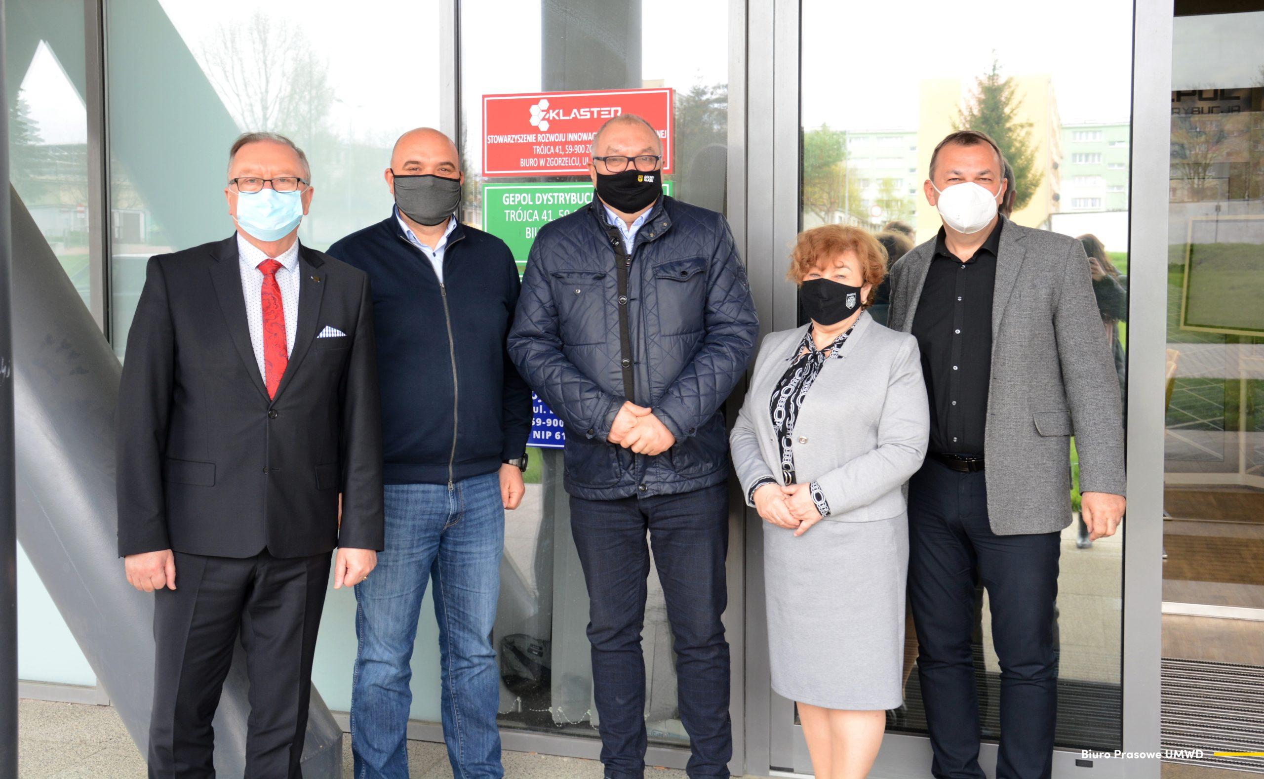 Dolnośląscy samorządowcy z wizytą w ZKlastrze
