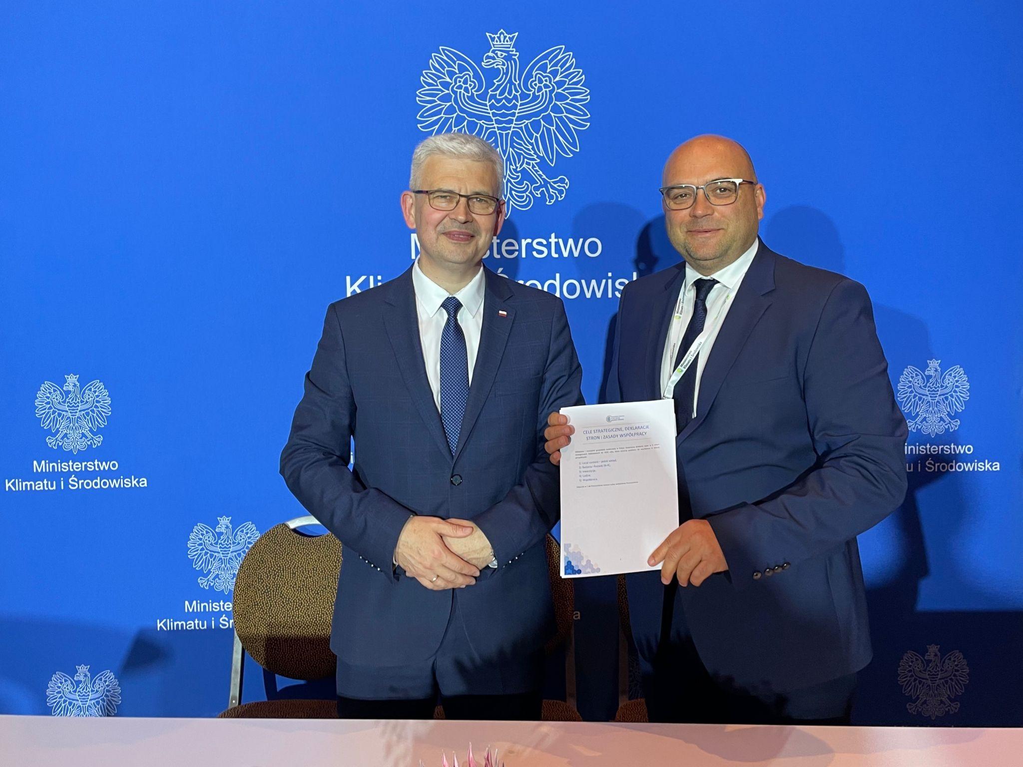 Pierwsze w Europie porozumienie sektorowe na rzecz gospodarki wodorowej z udziałem klastrów energii!